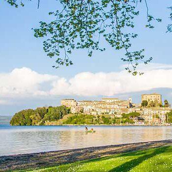 Bild zeigt Capodimonte am Bolsenasee